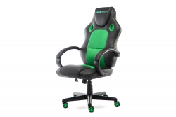 MOMO Design Gaming Chair Bürostuhl Chefsessel GC-002 mit Bluetooth Sound grün/schwarz MOMO-Design 83000012