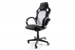 MOMO Design Gaming Chair Bürostuhl Chefsessel GC-001 weiß/schwarz MOMO-Design 83000014