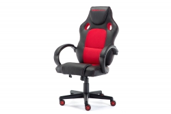 MOMO Design Gaming Chair Bürostuhl Chefsessel GC-001 rot/schwarz MOMO-Design 83000015