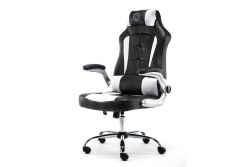 MOMO Design Gaming Chair Bürostuhl Chefsessel GC-003 weiß/schwarz MOMO-Design 83000018