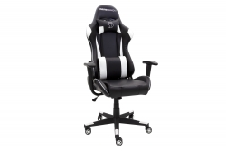 MOMO Design Gaming Chair Bürostuhl Chefsessel GC-004 mit Bluetooth Sound weiß/schwarz MOMO-Design 83000022