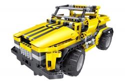 Teknotoys Active Bricks RC 2in1 Pickup Truck & Roadster gelb mit Fernsteuerung Teknotoys 85000012