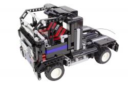 Teknotoys Active Bricks RC 2in1 Truck & Sportwagen schwarz mit Fernsteuerung Teknotoys 85000015