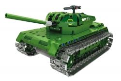 Teknotoys Active Bricks RC Panzer - Konstruktionsbaukasten mit Fernsteuerung Teknotoys 85000020