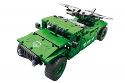 Teknotoys Active Bricks RC UAV Militär-Transporter - Konstruktionsbaukasten mit Fernsteuerung Teknotoys 85000022