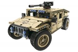 Teknotoys Active Bricks RC Militär Off-Road Fahrzeug - Konstruktionsbaukasten mit Fernsteuerung Teknotoys 85000023