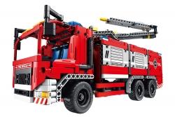 Teknotoys Active Bricks 2in1 Feuerwehrfahrzeug mit Löschkanone Teknotoys 85000054