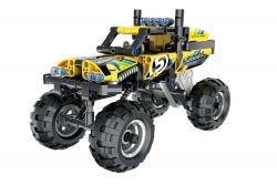 Teknotoys Active Bricks Pullback Off-Road Fahrzeug gelb Teknotoys 85000063