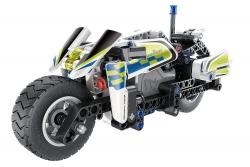 Teknotoys Active Bricks Pullback Polizei- Motorrad Teknotoys 85000065