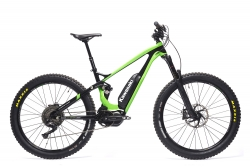 KAWASAKI KSX 8.3 Full Suspension Mountain Bike 27.5+ SHIMANO STEPS 8000 grün (M) Kawasaki 87000401