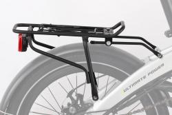 KAWASAKI Gepäckträger mit Rücklicht für Folding-Bike Kawasaki 87000950