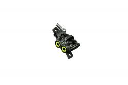 MAGURA Bremszange MT7, mystic grey, Blende neon gelb, drehbarer Leitungsanschluss, mit Bremsbelägen,ab MJ2015 (VE = 1 Stück) Magura 87010733