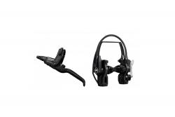 MAGURA HS22 schwarz, 3-Finger-Hebel, links/rechts verwendbar, 2.000 mm Leitungslänge, mit EVO2 Anbau, Einzelbremse (VE = 1 Stück) Magura 87010744