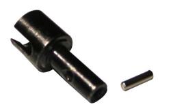 Radnaben m.Pins(2 x 8mm) DHK