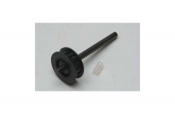 Heckrotorwelle m. Pully 14 Zähne Hirobo Z-H0403-306