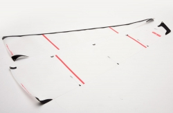 B Sail Set. 50 micron Mylar - DF65V Joysway Z-JS-881510