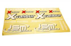 Dekor Set - Xcalibur (gelb-Sport) JSM Z-JSM001/LY