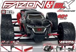 ARRMA FAZON 6S BLX EDC 4WD Speed Truck 1/8 RTR  AR106020