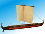 Wikinger Langschiff 1:35 Baukasten Krick 21205