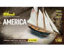 America Bausatz 1:140 Mini Ma Krick 21804
