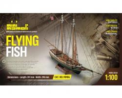 Flying Fish Bausatz 1:100 Min Krick 21806