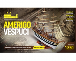 Amerigo Vespucci Bausatz 1:35 Krick 21810
