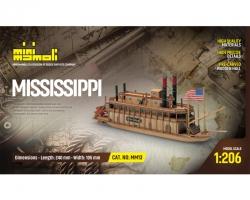 Mississippi  Bausatz 1:206 Mi Krick 21813