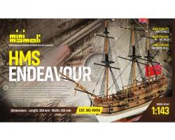 HMS Endeavour Bausatz 1:143 M Krick 21818