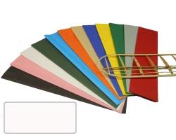 Bespannpapier weiß 18g/qm 51x76 cm (2) Krick 40360
