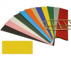Bespannpapier gelb 18g/qm 51x76 cm (2) Krick 40362