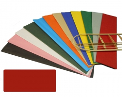 Bespannpapier rot 18g/qm 51x76 cm (2) Krick 40363