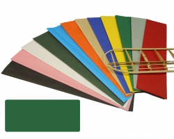 Bespannpapier grün 18g/qm 51x76 cm (2) Krick 40366