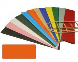 Bespannpapier orange 18g/qm 51x76 cm (2) Krick 40371