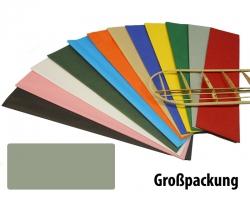 Bespannpapier hellgrau 18g/qm 51x76 cm (50) Krick 40381