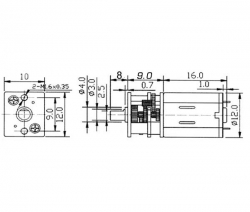 Micro Pile Getriebemotor 400: Krick 42206