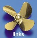 Ms-Propeller L 4-Bl. 40mm, M5 Krick 545040