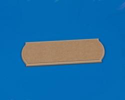 Grundplatte MDF 300x100x12 mm Krick 61105