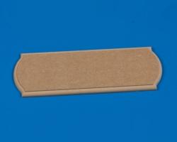 Grundplatte MDF 500x150x14 mm Krick 61107