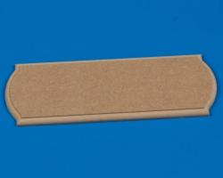 Grundplatte MDF 800x250x22 mm Krick 61108