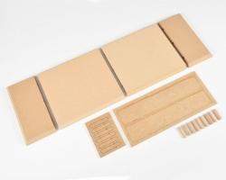 Grundplatte MDF 600x200x20 mm Krick 61109