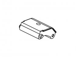 Aluminium Vorderer Halter MX400 Krick 655928