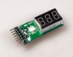 RFI Voltage Display 2-6 LiPo/Li-Ion Krick 956810