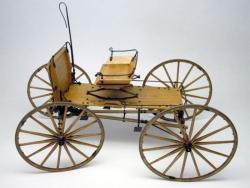 Buckboard Kutsche 1:12 Bausat Krick MS6004