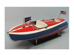 Chris-Craft Sportboot 16 ft. Painted Racer Bausatz Krick ds1263