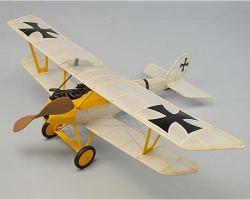 Pfalz D3  Gummimotormodell Ba Krick ds243