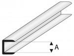 ASA Abschluss Profil 4x1000 mm Krick rb446-55
