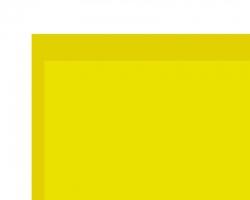 PVC Klebefolie transparent gelb 0,1x194x320 mm Krick rb604-11
