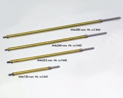 Stevenrohr/195+Welle M4x260 mm Krick ro1443