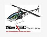 X50E Flybarless Elektro, Heck-Starr-Antrieb KIT ohne Motor Thund
